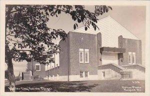 Oklahoma Eugene Latter Day Saints Chapel Real Photo RPPC
