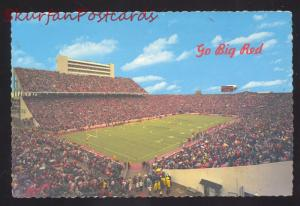 NORMAN OKLAHOMA SOONERS FOOTBALL STADIUM VINTAGE POSTCARD GAME OKLA