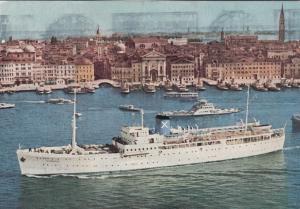 FLORENCE , Italy , 1967 ; Cruise Shipp S.S. ROMANTICA
