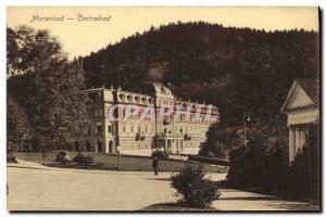 Old Postcard Marienbad Centralbad