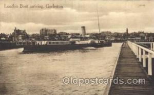 London Boat, Gorleston Steamer, Steamers, Ship, Ships Postcard Postcards  Lon...