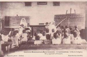 Madagascar Imerimandrozo L'Ecole Indigene Catechistes Missionaires de Marie I...