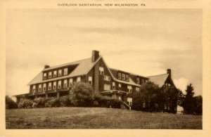 PA - New Wilmington. Overlook Sanitarium