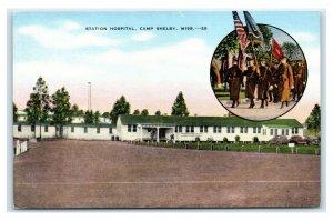 Postcard Station Hospital, Camp Shelby MS T19