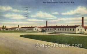 Camp McCoy, Wisconsin, USA Military Postcard Postcards  Camp McCoy, Wisconsin...