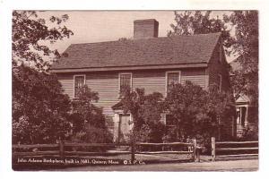 John Adams Birthplace, Quincy, Massachusetts, Stillman Powers