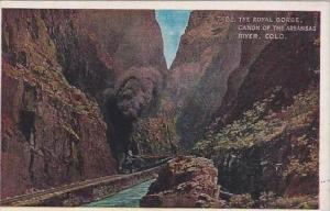 Colorado The Royal Gorge Canon Of The Arkanas River