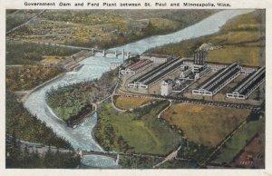 ST PAUL , Minnesota, 1910s ; Dam & FORD Plant