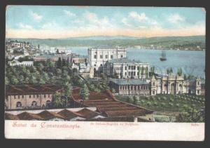 114423 TURKEY CONSTANTINOPLE Dolma-Bagtche au Bosphore Vintage