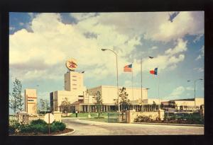 Houston, Texas/TX Postcard, Southwestern Home Of Anheuser-Busch, Budweiser