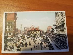Herald Square, New York Detroit Publishing Company Phostint 12178