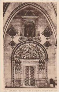 Spain Toledo Catedral Puerta de entrada a la Capilla de la Torre