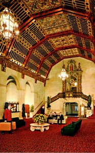 California Los Angeles The Biltmore Hotel The Lobby