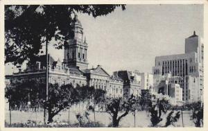City Hall (Exterior), Cape Town, South Africa, 1910-1920s