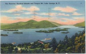 Linen of The Narrows, Tongue Mt. Lake George NY New York