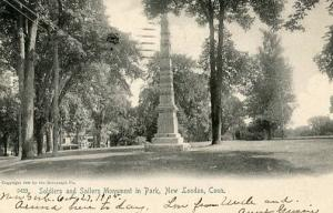 CT - New London. Soldiers and Sailors Monument