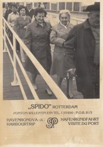 Rotterdam: 'SPIDO' Ponton Willemsplein Harbourtrip, Netheralnds photo