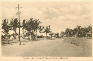 Angola portuguese colony LOBITO um trecho da Avenida Mariano Machado