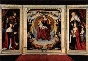 France Cathedrale de Moulins, Le Triptyque du Maitre de Moulins