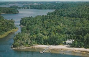 PARRY SOUND , Ontario, Canada, 1950-60s ; Sands-O-Dee Lodge Lodge