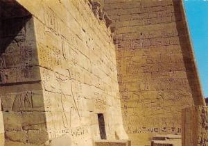 Egypt Luxor Medinet Habu, Hunting Scenes in Ramses Temple