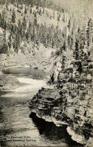 MT - Libby. Kootenai Falls