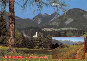 Jachenau Bayern Alpen Blick vom Staffel ins Karwendel