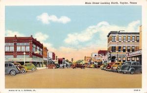 Taylor Texas~Main Street North~Sugarman's Kids Clothing Store~1939 Linen PC