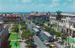 Jamaica Kingston King Street Looking Towards Harbor