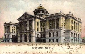 Ohio Toledo Court House 1906