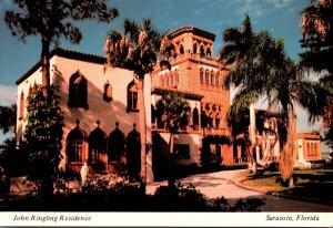 Florida Sarasota John and Mable Ringling Residence Front Entrance