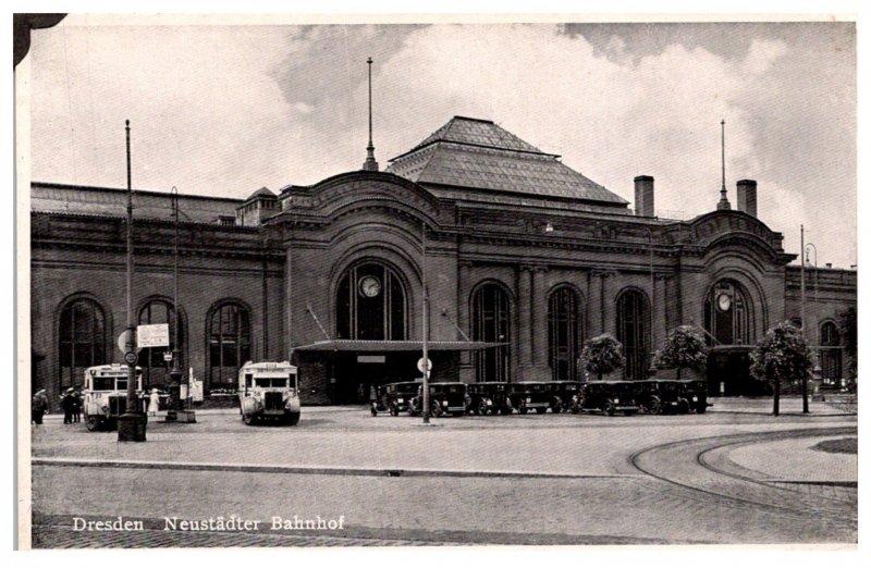 Germany  Dresden Neustadter Bahnhof