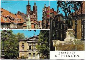 Germany - Gottingen, Lower Saxony, University City.