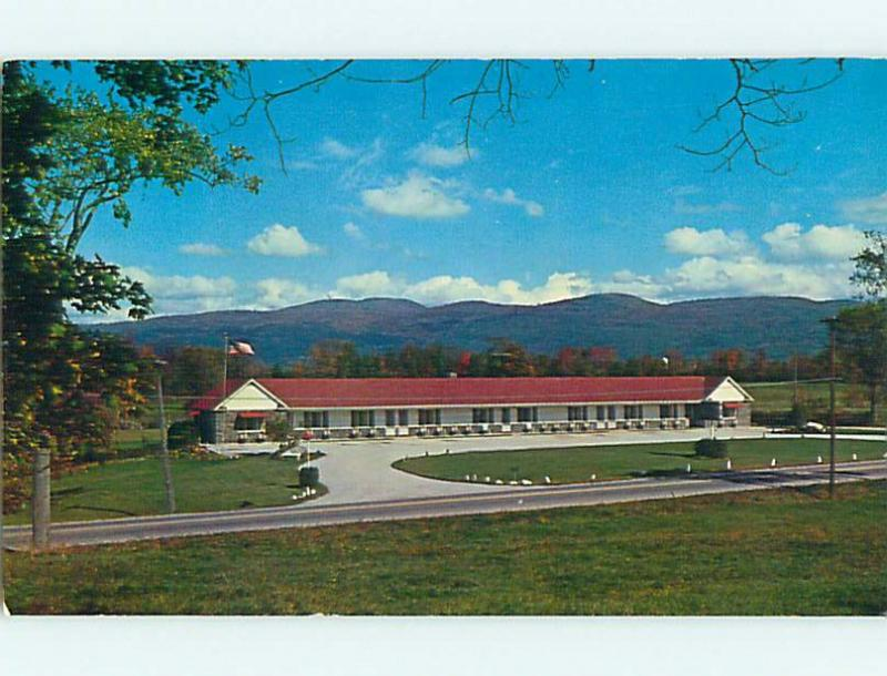 Unused Pre-1980 GREY STONE MOTEL Middlebury Vermont VT u2995-12