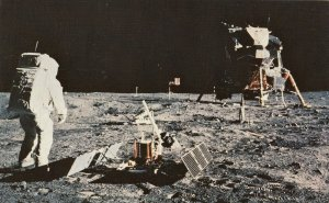 APOLLO 11 MOON LANDING, PASSIVE SEISMIC EXPERIMENTS PACKAGE(PSEP) 1950-60s