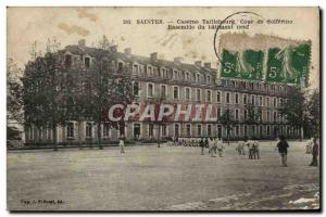 Postcard Old Barracks Army Barracks Taillebourg Saintes Court of Solferino Wh...