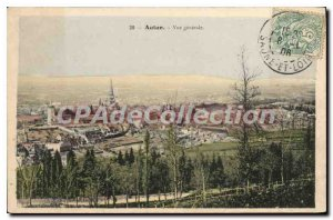 Old Postcard Autun General view