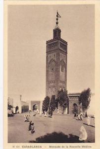 Casablanca , Morocco , 1910-30s ; Mosquee de la Nouvelle Medina