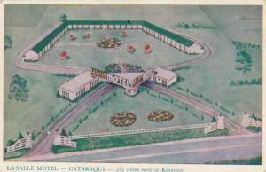 CATARAQUI , Ontario , 1930s-50s ; La Salle Motel