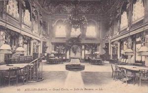 France Aix les Bains Le Grand Cercle Salle du Baccara