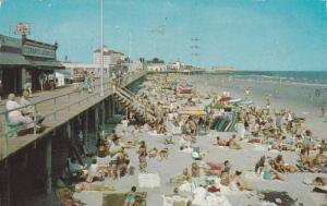 Beach and Boardwalk, Ocean City, New Jersey, PU-1961