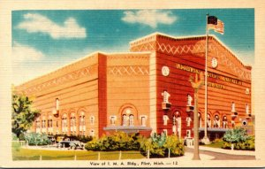 Michigan Flint View Of Industrial Mutual Association Building Dexter Press