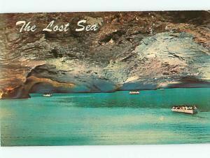 Vintage Post Card Lost Sea Largest Underground Lake Madisonville  TN   # 4081