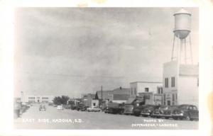 Kadoka South Dakota~Old Fashioned Water Tower Looms Over East Side~RPPC c1950