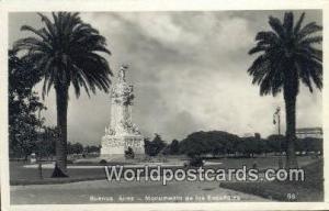 Argentina, República Argentina Monumento de los Espanoles Buenos Aires Print...