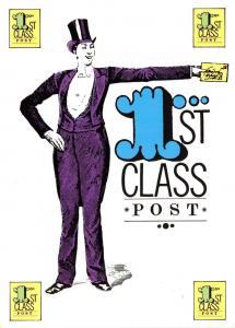Postcard Art 1st Class Post by Reflex Marketing No.PD262 #174