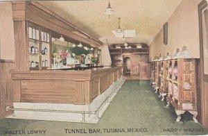 TIJUANA , Mexico , 1900-10s ; Tunnel Bar