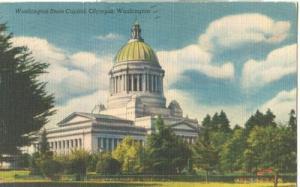 Washington State Capitol, Olympia, Washington, 1954 used ...