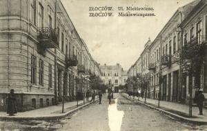 ukraine poland russia, ZOLOCHIV ZŁOCZÓW, Ul. Mickiewicza (1917)
