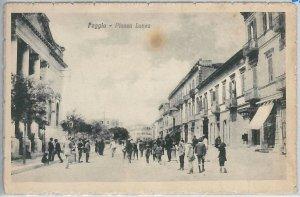 49755  CARTOLINA d'Epoca - FOGGIA citta' : Piazza Lanza - BELLA!